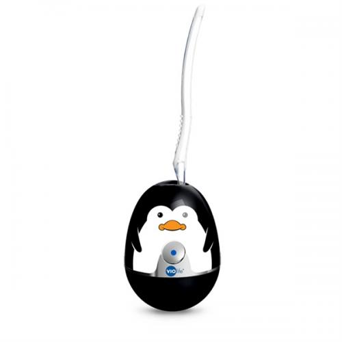 Violife Black Penguin Zapi UV Toothbrush Sanitizer w/ Free Toothbrush - Eliminates up to 99.9% of Germs and Bacteria!