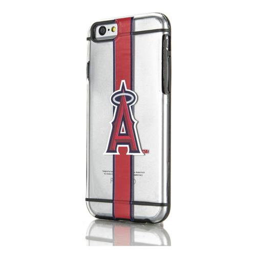 [Apple iPhone 6/6S] (4.7 inch) Sports Case, [Los Angeles Angels] Hydroclear Ultra-Slim 3D UV Printed Textued Hard Back Case w/ TPU Border